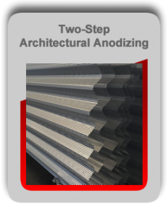 Architectural Anodizing Metal Finishing Services