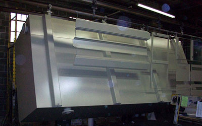 Custom Powder Coating Welded Steel Tanks