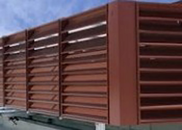 Custom Powder Coating Of Large Extruded Aluminum Rooftop