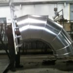Custom Powder Coating of Large Formed Aluminum HVAC