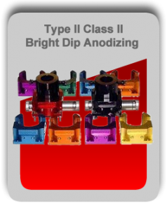 Bright Dip Anodizing Metal Finishing Services